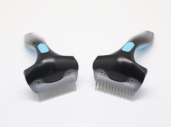 Fine teeth pet shedding comb